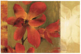 Crimson Garden Print by Asia Jensen
