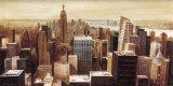 New York Skyline II Poster von G.p. Mepas