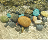 Beach Stones Prints by Mark Goodall