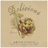 Delicious Artichokes (detail) Posters by Chad Barrett