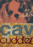 Cavalier Cuddler Art by M.J. Lew