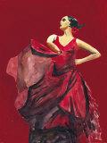 Flamenco II Art by Irene Celic