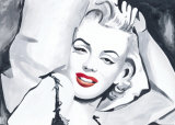 Marilyn Study in Bed Prints by Irene Celic