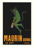 Maurin Quina Serigraph by Leonetto Cappiello