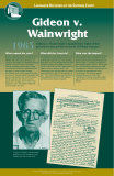 Landmark Decisions of the Supreme Court - Gideon v Wainright Wall Poster