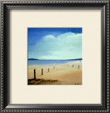 Along the Beach II Prints by Hans Paus