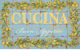 Mediterranean Cucina Print by Michael Letzig