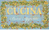 Mediterranean Cucina Print by Michael Letzig