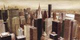 New York Skyline I Kunst von G.p. Mepas