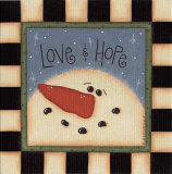 Love and Hope Prints by Sue Allemend