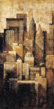 New York Dusk I Kunstdrucke von G.p. Mepas