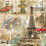 In Paris Print by Tyler Burke