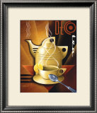 Deco Tea Poster by Michael L. Kungl