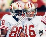 Jerry Rice and Joe Montana Photo