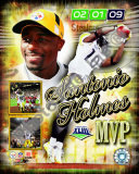 Santonio Holmes Super Bowl XLIII MVP Photo