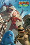 Monsters vs Aliens Kunstdrucke