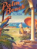 Palm Beach, Florida Poster par Kerne Erickson