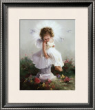 Baby Angel II Prints by Joyce Birkenstock