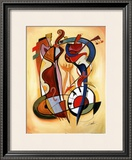 Wild Party I Print by Alfred Gockel