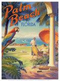 Palm Beach, Florida Reprodukcje autor Kerne Erickson