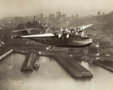 China Clipper, San Francisco, California, 1936 Plakater af Clyde Sunderland