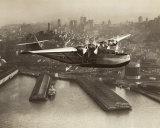Clyde Sunderland - China Clipper, San Francisco, California, 1936 Obrazy