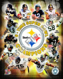 Pittsburgh Steelers 6-Time Super Bowl Champions Photo