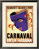 Carnaval, Habana, 1941 Posters