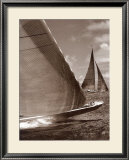 Sepia Sails I Prints by Cory Silken