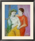 The Lovers Art by Pablo Picasso