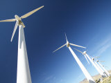 Eco-Friendly, Energy Generating Wind Farm Photographic Print