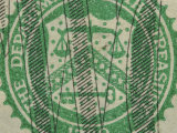 Close-Up of Symbol on Us Currency Photographic Print