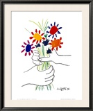 Petite Fleurs Prints by Pablo Picasso