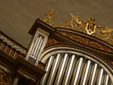 Detail of Decorative Pipe Organ Photographic Print
