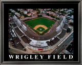 Wrigley Field - Chicago, Illinois Posters by Mike Smith
