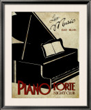 Piano Forte Print by Kelly Donovan