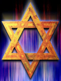 Star of David Symbol Prints