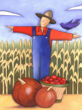 Autumn Season Harvest by Scarecrow Prints