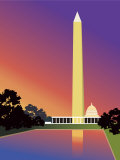 Washington Monument in Washington, DC, USA Poster