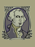 Portrait of George Washington Prints