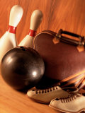 Equipment and Tools for Bowling Photographic Print