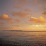 Beautiful and Peaceful Sunset over a Sea Photographic Print