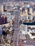 Aerial View of Historic Las Vegas, Nevada Photographic Print