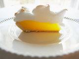 Wedge of Delicious Lemon Meringue Pie Photographic Print