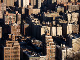 Aerial View of Buildings and High Rises in the Bronx, New York Photographic Print