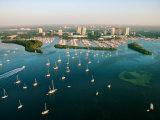 Grandiose Aerial View of Miami, Florida Photographic Print