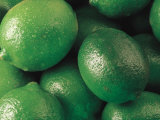Close-Up of Pile of Fresh Limes Photographic Print