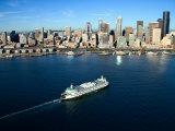 Grandiose Skyline of Beautiful Seattle, Washington Photographic Print