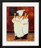 Le Menu Prints by Jennifer Garant