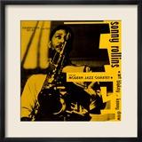 Sonny Rollins - Sonny Rollins with the Modern Jazz Quartet Gerahmter Fotografie-Druck